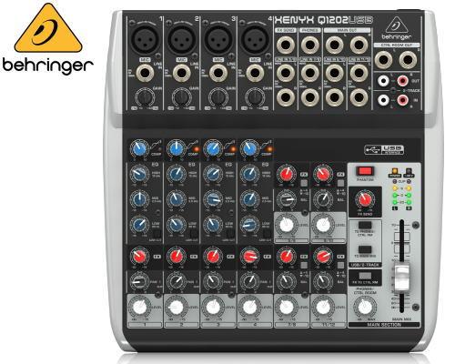 Behringer(ベリンガー)アナログミキサー Q1202 USB XENYX