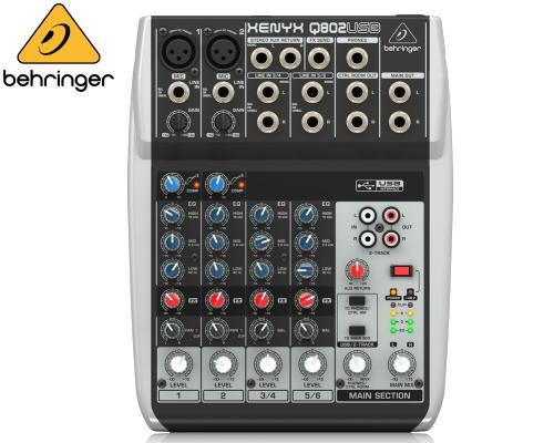 Behringer(ベリンガー)アナログミキサー Q802 Q802 USB USB XENYX XENYX, 彩り屋:65305969 --- ww.thecollagist.com