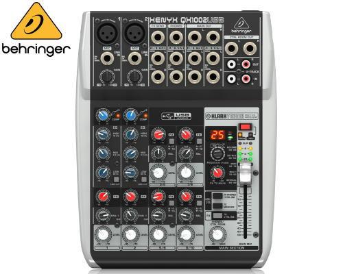 Behringer(ベリンガー)アナログミキサー QX1002 USB XENYX