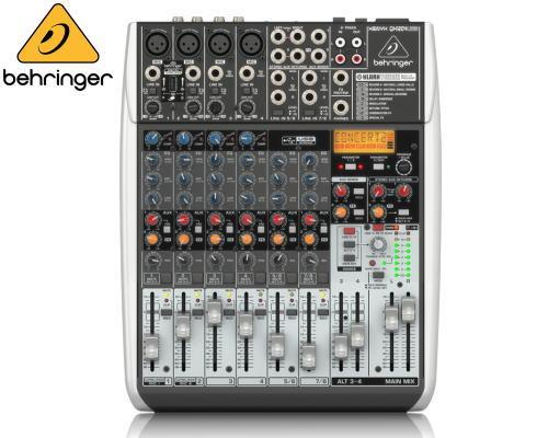 Behringer(ベリンガー)アナログミキサー QX1204 XENYX USB USB QX1204 XENYX, 株式会社 能作:99b429ee --- ww.thecollagist.com