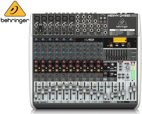 Behringer(ベリンガー)アナログミキサー QX1832 USB XENYX
