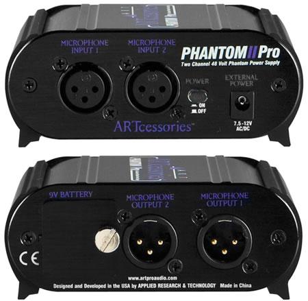 ART Pro Phantom II Pro ファンタム電源 2CH 2CH II 48Vファントム・パワー・サプライ, ムロランシ:e499ac5a --- ww.thecollagist.com