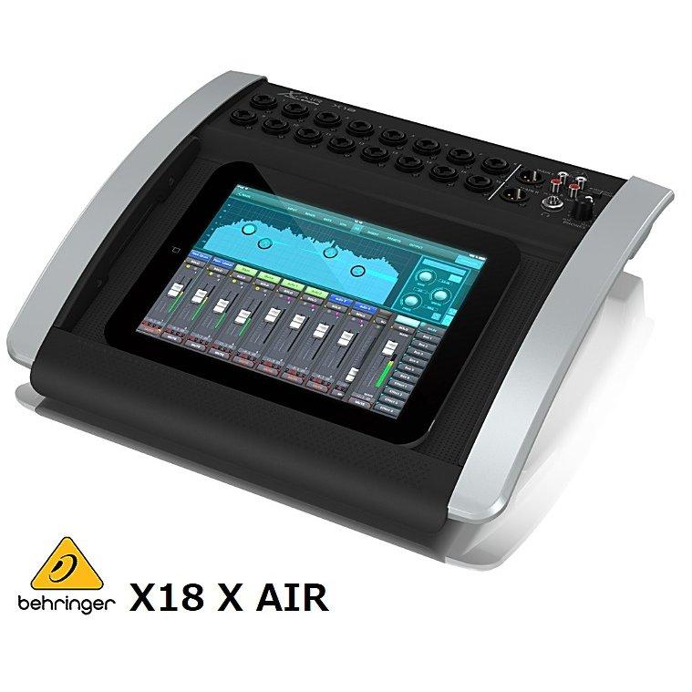 BEHRINGER/べリンガー iPad/Androidタブレットとドッキングして使用 18入力12バスデジタル・ミキサー X18-X-AIR