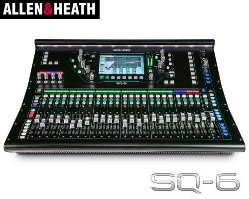 ALLEN&HEATH(A&H)/アレン&ヒース(アレヒ) デジタルミキサー SQ6 デジ卓 デジミキ 48ch 96kHz SQシリーズ