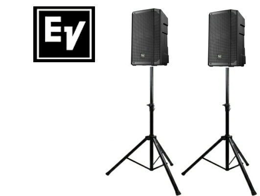 EV エレクトロボイス ELX200-10 1ペア(スタンド付きセット)スピーカー