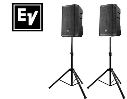 EV エレクトロボイス ELX200-12 1ペア(スタンド付きセット)スピーカー