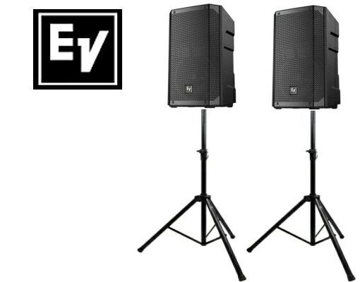 EV エレクトロボイス ELX200-15 1ペア(スタンド付きセット)スピーカー