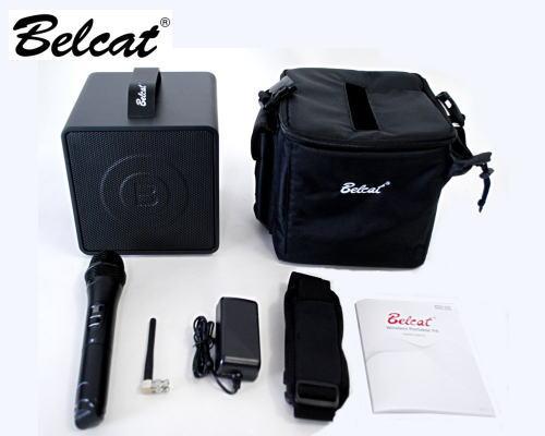 Belcat BWPA30W PAセット スピーカー アンプ ワイヤレスマイク【スピーカースタンド・収納ケース付き】