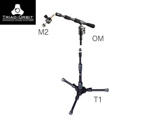TRIAD ORBIT(トライアド・オービット)ショートブーム・マイクスタンドセット T1/OM/M2