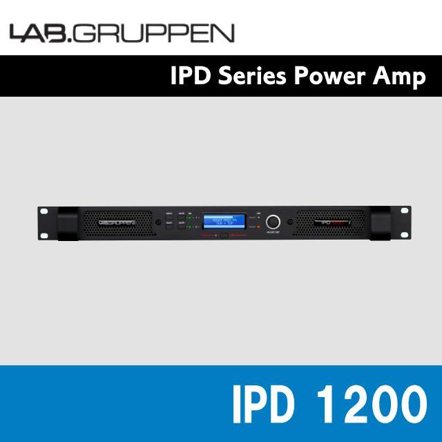 LAB.GRUPPEN(ラブグルッペン) IPDシリーズ IPD 1200 1U 2CH パワーアンプ