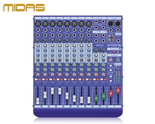 MIDAS / マイダス アナログミキサー DM12