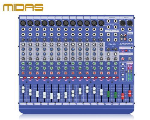 MIDAS / マイダス アナログミキサー DM16