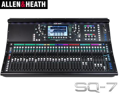 ALLEN&HEATH(A&H)/アレン&ヒース(アレヒ)SQ-7 デジタルミキサー SQ7