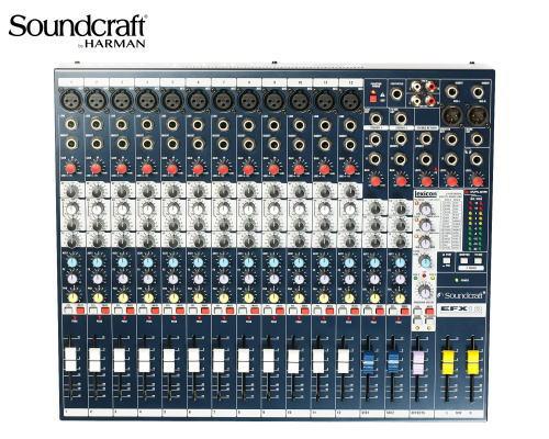 Soundcraft / サウンドクラフト アナログミキサー EFX12