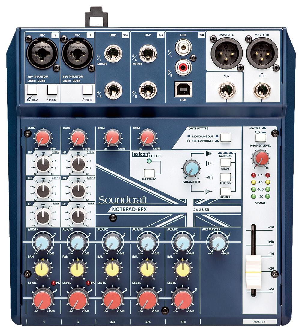 【驚きの価格が実現!】 Soundcraf/Notepad-8FX(ヒビノ正規品)サウンドクラフト, Auto KU:165b6bc7 --- coursedive.com