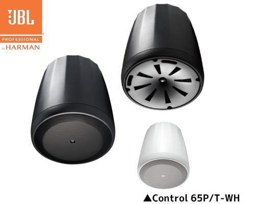 【JBL PROFESSIONAL】Control 65P/T 天井吊下げ用同軸2-Wayフルレンジ・スピーカー 2本セット(黒or白)
