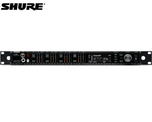 SHURE AD4QJ-Z16 AXTデジタルワイヤレス1.2GHz帯 受信機 4チャンネルモデル
