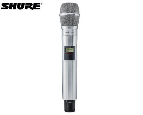 SHURE AD2/K9N-Z16 AXTデジタルワイヤレス1.2GHz帯 ハンドヘルド型送信機 KSM9ヘッド