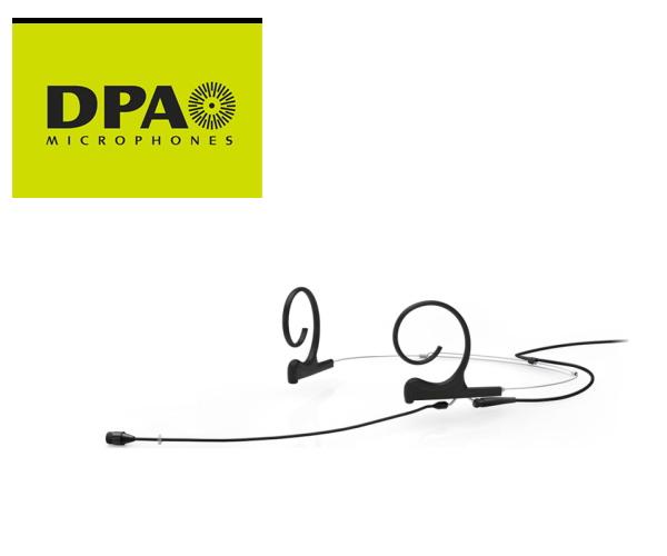 DPA CORE4266-OC-F-B00-LH デュアルイヤー・ヘッドセット・マイクロホン ロングブーム MicroDot端子/黒