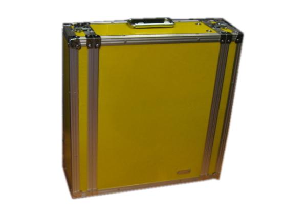 ARMOR-アルモア FRPラック D360 黄 3U ラックケース ※受注発注品(納期約一ヶ月~)