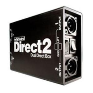 whirlwind DIRECT2 2CHパッシブダイレクトボックス