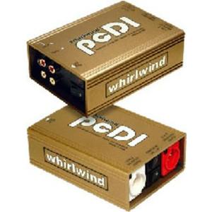 whirlwind PCDI CD・MD・サウンドカード用 2CHパッシブ・ダイレクトボックス/DIボックス