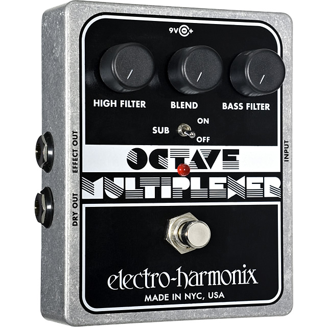 【Electro-Harmonix】Octave Multiplexer (オクターブマルチプレクサー) モノフォニック・オクターバー【EHX/エレクトロ・ハーモニクス】