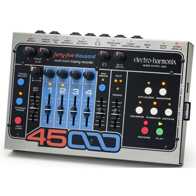 【Electro-Harmonix】45000 マルチトラック・ルーパー【EHX/エレクトロ・ハーモニクス】