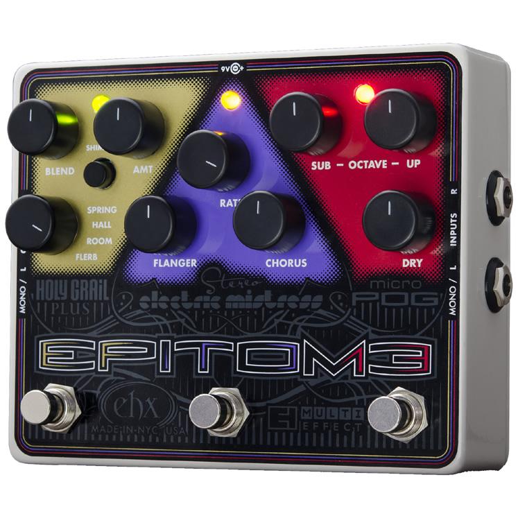 【Electro-Harmonix】Epitome(エピトミー) マルチエフェクター【EHX/エレクトロ・ハーモニクス】