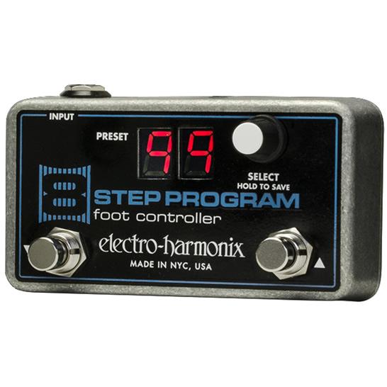 【Electro-Harmonix】8 Step Program Foot Controller 8 Step Program専用フットコントローラー【EHX/エレクトロ・ハーモニクス】