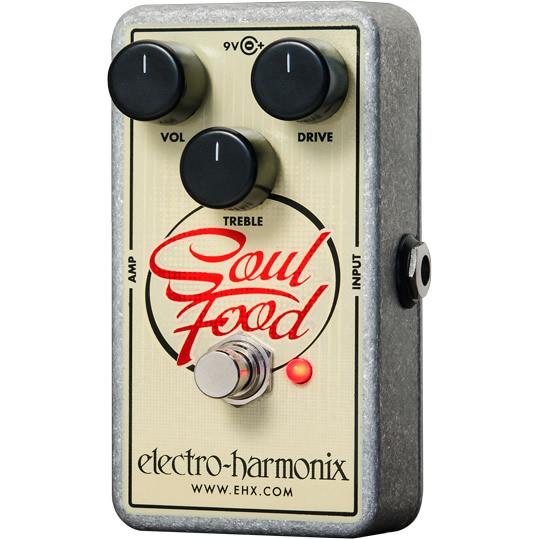 【Electro-Harmonix】Soul Food(ソウルフード) ディストーション/ファズ/オーバードライブ【EHX/エレクトロ・ハーモニクス】