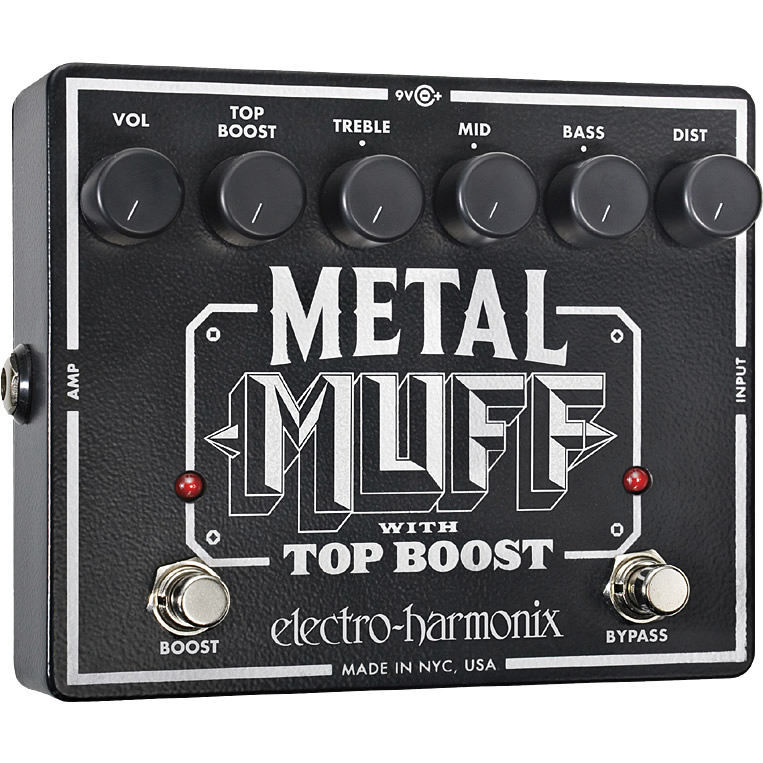 【Electro-Harmonix】Metal Muff(メタルマフ) ディストーション with Top Boost【EHX/エレクトロ・ハーモニクス】