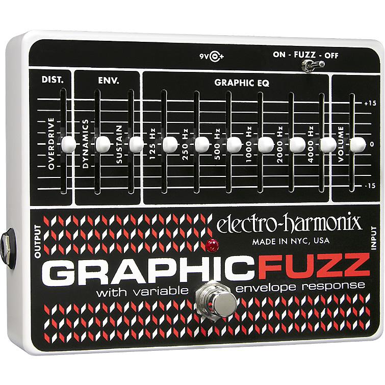 【Electro-Harmonix】Graphic Fuzz(グラフィックファズ) ディストーション/ファズ【EHX/エレクトロ・ハーモニクス】