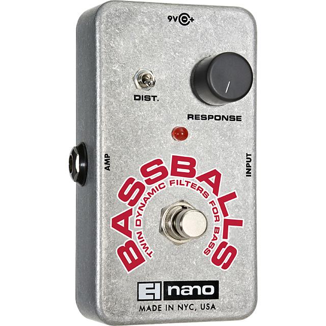 【Electro-Harmonix】Bassballs(ベースボールズ) エンベロープ・フィルター【EHX/エレクトロ・ハーモニクス】