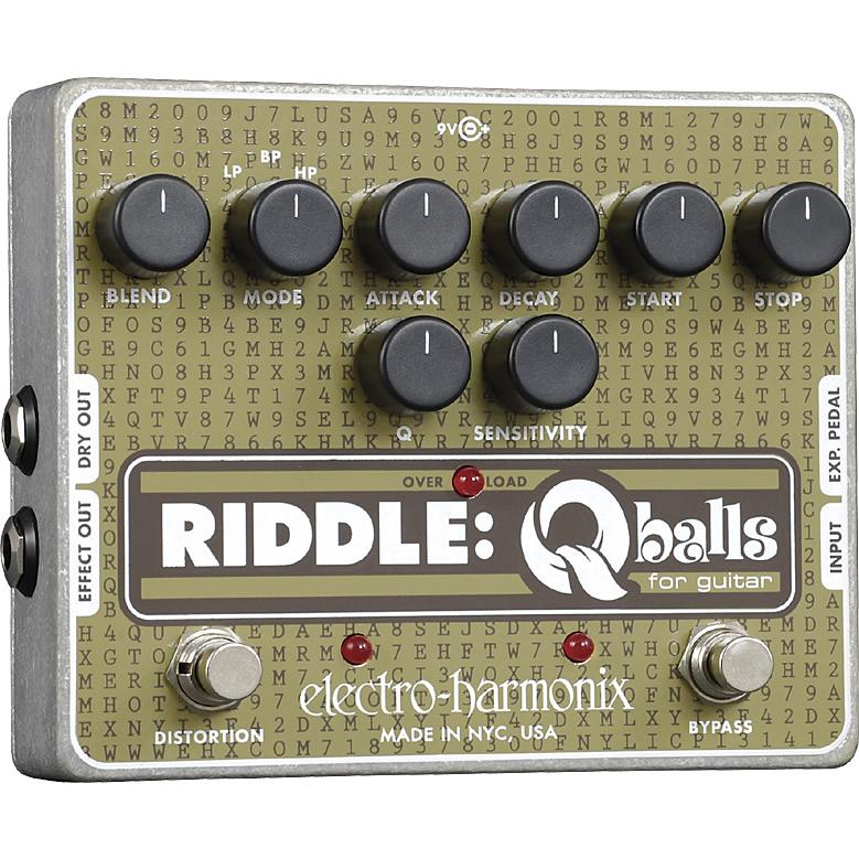 【Electro-Harmonix】Riddle(リドル) エンベロープ・フィルター【EHX/エレクトロ・ハーモニクス】