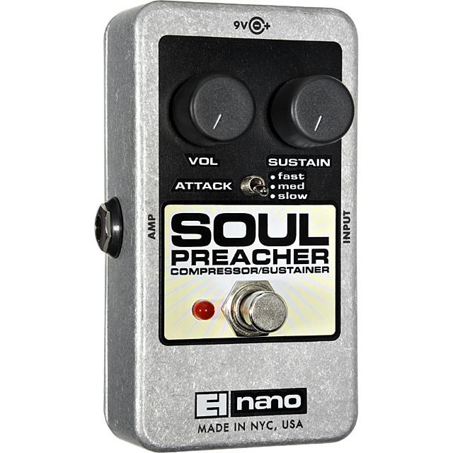 【Electro-Harmonix】Soul Preacher(ソウルプリーチャー) コンプレッサー/サスティナー【EHX/エレクトロ・ハーモニクス】