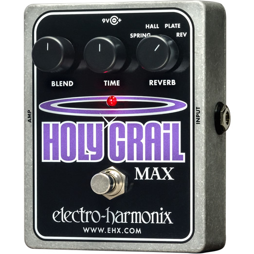 【Electro-Harmonix】Holy Grail Max(ホーリーグレイルマックス) リバーブ【EHX/エレクトロ・ハーモニクス】
