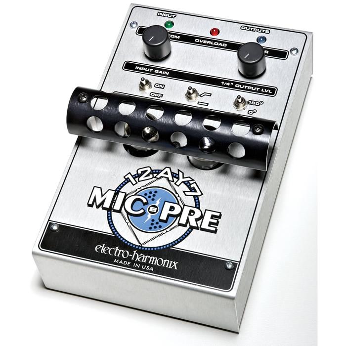 【Electro-Harmonix】12AY7 Mic Pre 真空管搭載マイク・プリアンプ【EHX/エレクトロ・ハーモニクス】