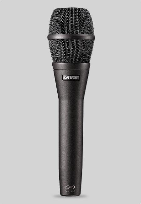 【SHURE/シュアー(正規輸入品)】SHURE:KSM9/CG【高品位ボーカル・コンデンサー・マイクロホン】