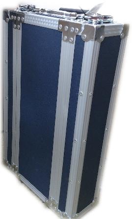 キョーリツ製ショートサイズ 2Uラックケース(ネイビーブルー)HRC-120NV, ウラカワチョウ:e60509eb --- ww.thecollagist.com