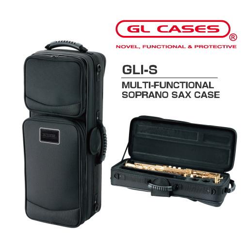 【GL CASES】GLI-S ソプラノサックス用セミハードケース