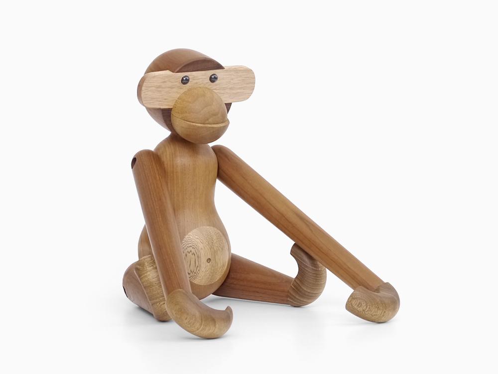 カイ・ボイスン モンキー(大) Kay Bojesen Monkey 木製玩具 オブジェ フィギュア 木のオブジェ インテリア 人形 猿 置物 北欧雑貨 リプロダクト 干支 縁起物 申年