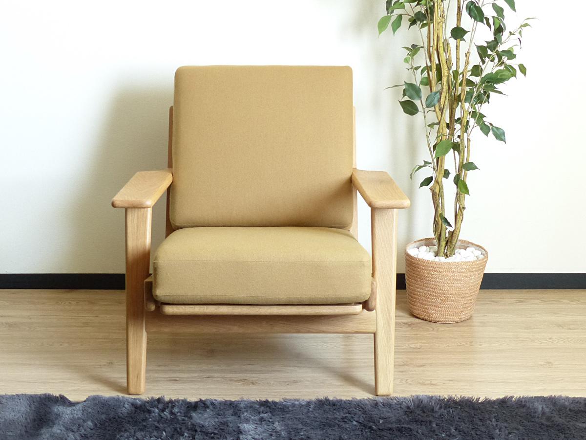 ビッグ割引 ハンス・J・ウェグナー イージーチェア ベージュ GE290 オーク材 シングルソファ 北欧 一人掛け 木製 無垢材 Hans J Wegner イス 椅子 ジェネリックリプロダクト 1P, ぺんしる 0f70c2b5