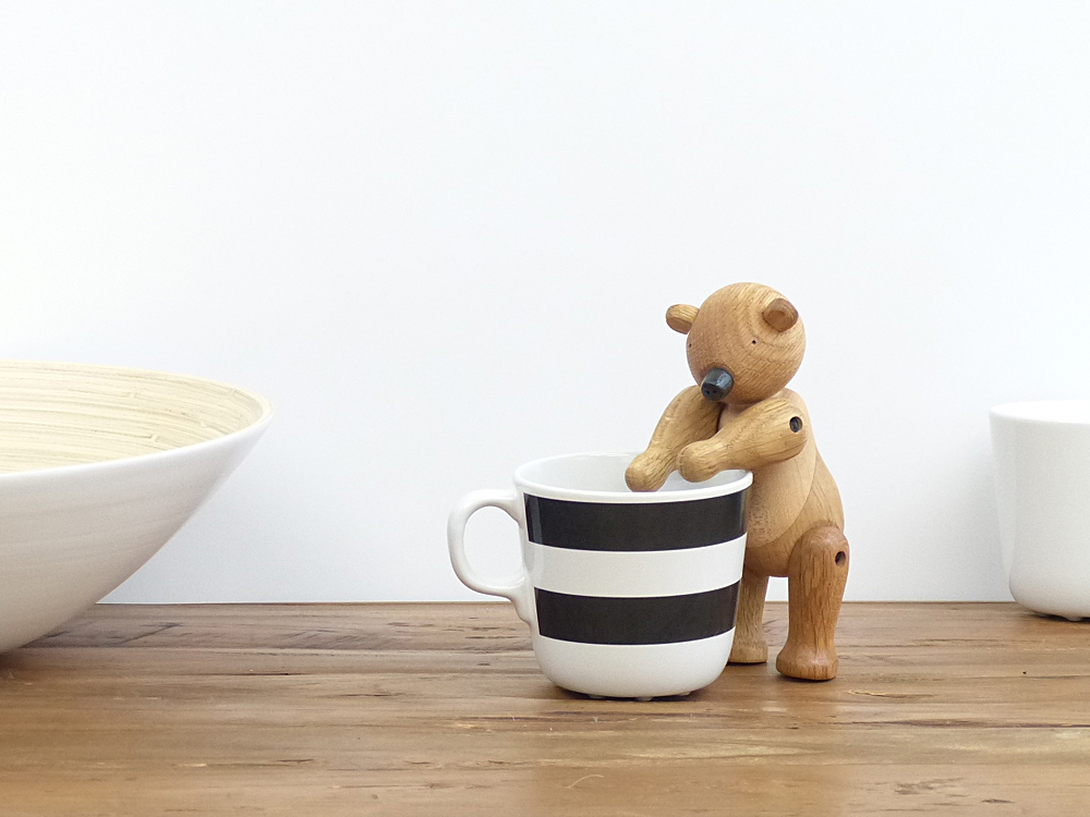 カイ ボイスン ベア Kay BojesenBear 木製玩具 オブジェ フィギュア 木のオブジェ インテリア 人形 北欧雑貨 置物 お洒落 クマ かわいい 熊 母の日 豪華な リプロダクト ※ラッピング ※ ヴィンテージ ギフト くま