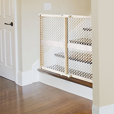 Munchkin Quick Installation Gate Baby Fence Baby Gate Safety Gate Baby Goods Baby Stairs Kitchen Entrance Light Weight Wood Plastic Safely Simple