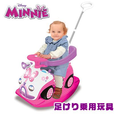 【在庫有り】【送料無料】ディズニー ミニーマウス 4-in-1 ライドオン - ミッキーマウス クラブハウス 足けり乗用玩具 乗り物おもちゃ 足けり おもちゃ キックカー 手押し車 足蹴り乗用玩具 1歳 誕生日 お祝い Mickey Mouse Clubhouse 4-in-1 Ride On - Minnie Mouse