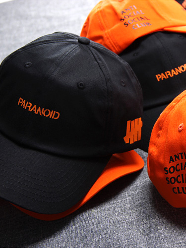 Anti Social Social Club Undefeated Paranoid ASSC Baseball Cap Hat One Size Color
