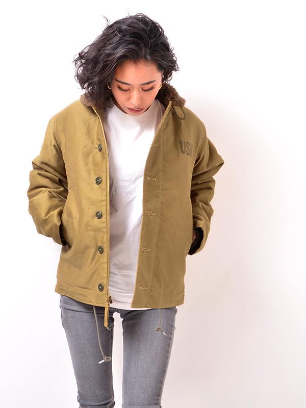 7993dac8edef Rickson n-1 deck jacket BUZZ RICKSON s NAVAL CLOTHING DEPOT Oriental  BR12032fs04gm