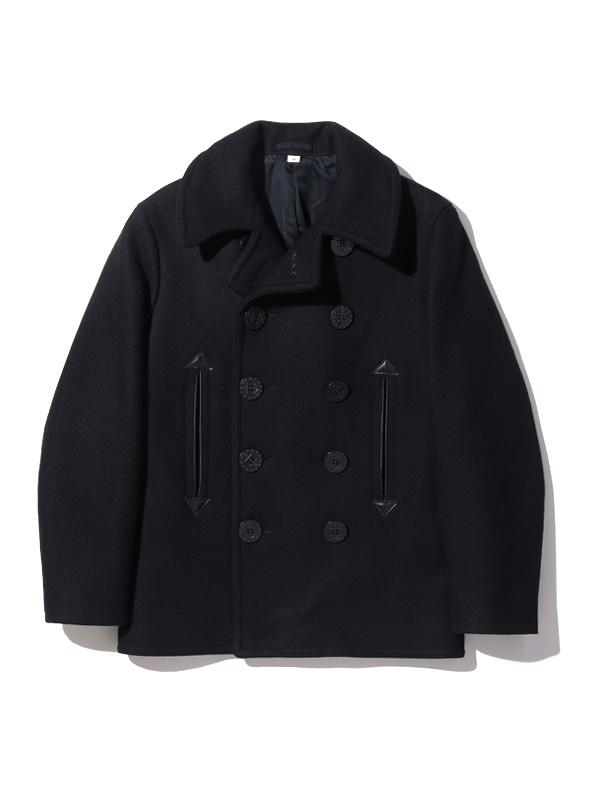Rickson peacoat outerwear P coat black William Gibson BUZZ RICKSON'S BR12394