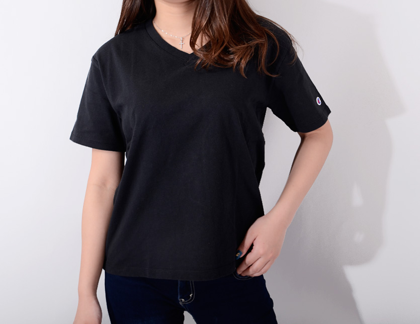 3da4ca95c5f8 ... It is a present giftwrapping in CHAMPION champion T-shirt Lady's short  sleeves cotton 100 ...